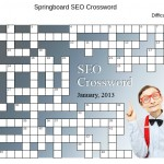 SEO Crossword #1