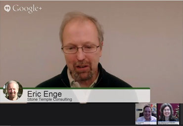 Digital Marketing Excellence Show Google+ Hangout On Air